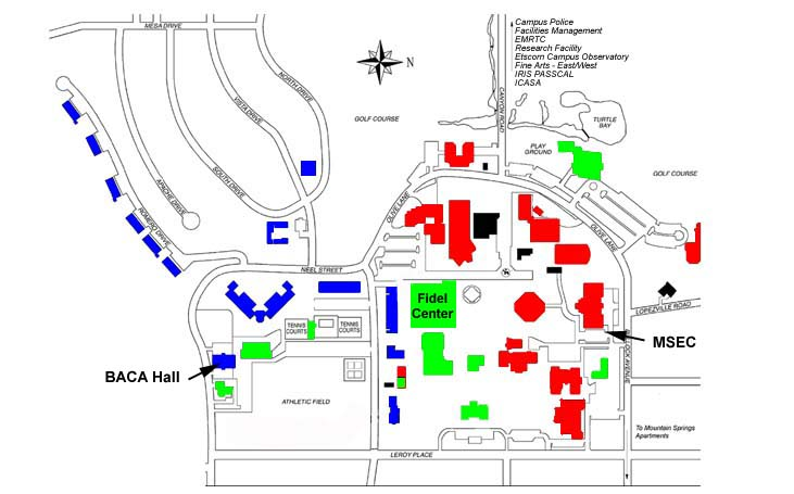 Geol 480 Campus Map